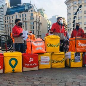 Entregadores latino-americanos se juntam à paralisação dos brasileiros nestaquarta