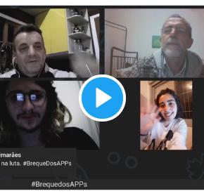 Conversa ao Vivo com Tirza, Entregadora de APP em Porto Alegre e Guilherme de Uberaba#BrequeDosAPPs