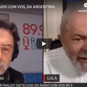 """Lula: """"O povo não quer armas, quer empregos e salários"""" Leia eouça:"""