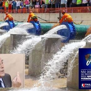 """Leonardo Melgarejo fala sobre aprovação da Privatização da Água(PL 4162) no Brasil e pergunta: """"o que Brizola diria disto?""""Ouça:"""