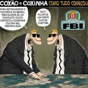 """""""Um certo Juiz de Curitiba"""" se enredou com o FBI e a CIA e cometeu crime de LesaPátria"""