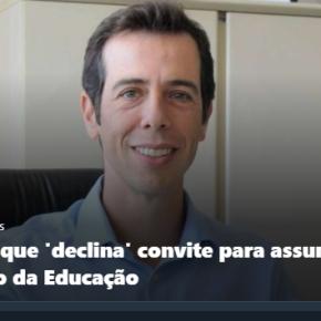 """Continuamos sem Ministro da Saúde e …sem Ministro da Educação.  Feder  """"desaceitou"""" oconvite"""