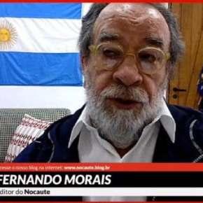 Na semana em que muitos  defenderam Felipe Neto, Fernando Morais comunica o fechamento do Blog Nocaute.Sintomático?