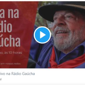 """Rádio Gaúcha (RBS) manda Kelly Matos e Luciano Potter entrarem ao vivo em """"ringue"""" pra ajudar Moro contraLula"""