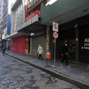 O que escondem as bandeiras do Eduardo Leite: RS perdeu cerca de 7 mil lojas desde o início dapandemia
