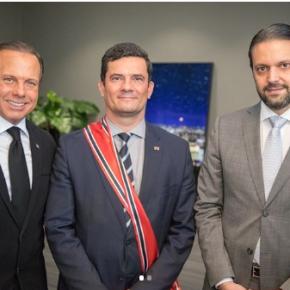 """Corrupto, Preso pela PF, Alexandre Baldy homenageou Moro e pediu """"um Brasil mais justo e menoscorrupto"""""""
