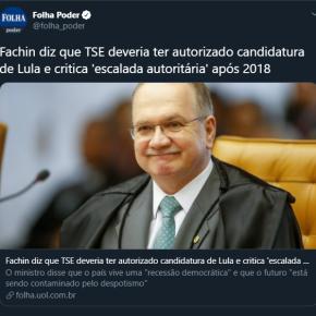CRIME ELEITORAL COMETIDO EM 2018 CONTRA MILHÕES DE BRASILEIROS AINDA PODE SER REVISTO PELOSTF?
