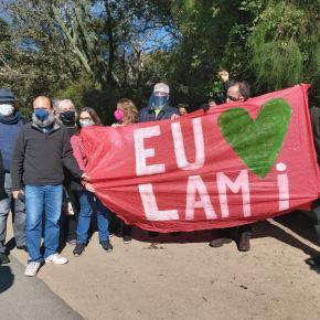 Moradores do Lami realizam Ato contra o desmonte da Reserva Biológica JoséLutzemberger