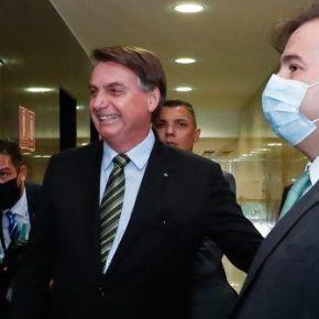Fiador do fascismo, Rodrigo Maia toma café com Bolsonaro fora daagenda