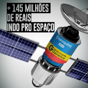 """Novo satélite para o Inpe é uma """"cloroquinaespacial"""""""