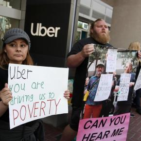 """Motoristas de Uber e Lyft devem ser """"funcionários plenos"""" com Direitos Trabalhistas, decide juiz naCalifórnia"""