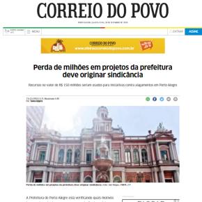 Lembrança de dias de chuva: Marchezan perdeu R$ 150 milhões de investimentos contra alagamentos em POA? Eai?