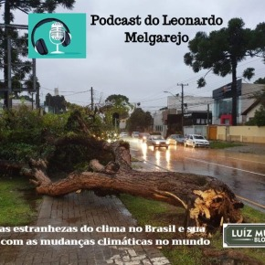 Podcast: Leonardo Melgarejo fala sobre as estranhezas do clima no Sul Brasil e sua relação com as mudanças climáticas nomundo