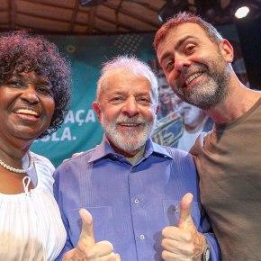 Em 2º nas pesquisas e subindo, Benedita da Silva defende legado de Lula e sonha com Rioantirracista