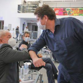 """São Paulo: Com apoio de Lula, Gilmar Tatto """"esta no jogo"""" e pode ir pro no 2º turno, diz Jornalista RodrigoVianna"""