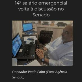 14º salário emergencial para aposentados e pensionistas volta à discussão no Senado(Vídeo)