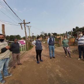 """Organização e luta melhoram as condições de moradia das 250 famílias do """"Recanto dos Gaudérios"""" em PortoAlegre"""