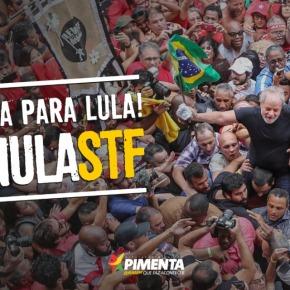 """Campanha Nacional #AnulaSTF chega aos TTs e pede anulação da """"Farsa a Jato"""" contra Lula e oBrasil"""