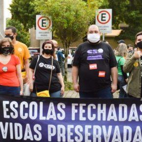 Escolas de Caxias do Sul publicam manifesto contra retomada das aulaspresenciais