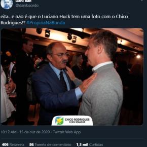 Luciano Huck vai ter que apagar mais uma foto das suas redes sociais. #PropinanaBunda também suja aimagem