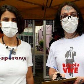 Movimento de Militantes do PDT apoia Manuela no 2º turno em PortoAlegre.