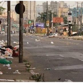 """Foto: Legado da gestão Melo/Fortunatti na Av. Voluntário da Pátria. outra """"obra da Copa""""… de2014"""
