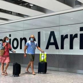 Voos para a Inglaterra são proibidos por 43 países por causa da mutação do Vírus. Já o Brasil… continuapermitindo.