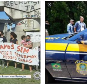 Na Nova Ponte do Guaíba, Governantes aplaudem a ostentação de um e a humilhação demuitos