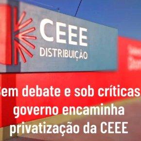 """Nesta Terça(8/12), Eduardo Leite lança edital com """"Negócio da China"""": Quer vender a CEEE por…R$ 50 mil. A empresa fatura R$ 3 bi porano!"""