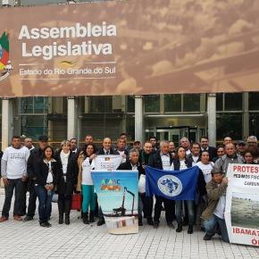Contra Lei Estadual, Governo Federal libera a pesca de arrasto e prejudica mais de 20 mil pescadores artesanais doRS