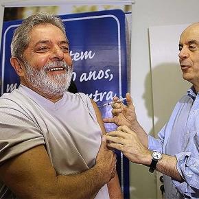 Sob governo Lula, Brasil foi o país que mais vacinou contra H1N1 no mundo, 100 milhões em poucos meses, peloSUS