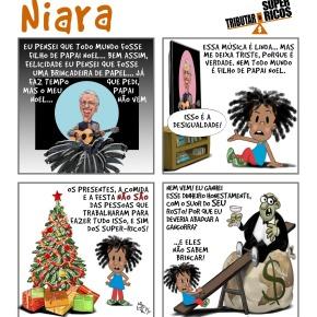 Chegou o Natal. Mas não pra Todo Mundo! Niara quer um futuro melhor para as crianças doBrasil