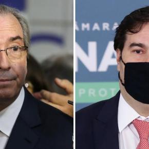 """Cunha revela papel de Rodrigo Maia no golpe contra Dilma: """"estava desesperado pelosholofotes"""""""
