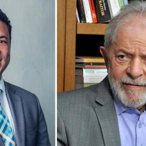 """Lula divulga nota de pesar pela morte de Diogo Santana: """"pessoa comprometida com um Brasilmelhor"""""""
