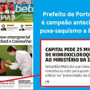 """""""Me dá uma cloroquina aí, bagual…"""": Sebastião Melo é campeão de puxa-saquismo aBolsonaro"""