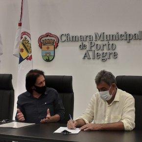 Vacina e reabertura dos Postos de Saúde, estão entra as Demandas que o PT apresentou ao Prefeito Melo emReunião