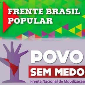 Frentes Brasil Popular e Povo Sem Medo definem calendário Nacional de lutas pela #VacinaJáParaTodos e peloimpeachment