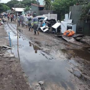 Nos 2 anos das mortes em Brumadinho, Barragem rompe em Santa Catarina e atinge 40 famílias deFlorianópolis