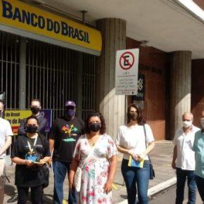 Em defesa do Banco do Brasil Público e contra demissões, Bancários do BB entram em GREVE na Quarta-feira(10)