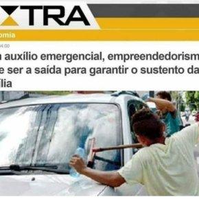 """Pra Globo, menino lavando vidro de carro em farol… é """"empreendedorismo"""" e não trabalhoinfantil"""