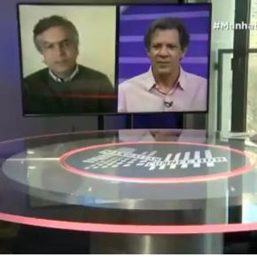 Haddad reage a ataque de Diogo Mainardi e diz que ele é 'problemático psicologicamente' (vídeo)