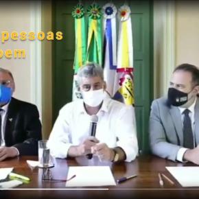"""Assustador! """"Que as pessoas doem a sua vida para salvar a economia do município"""" conclama o Prefeito de Porto Alegre em vídeo (Assista), defendendo aberturageral"""