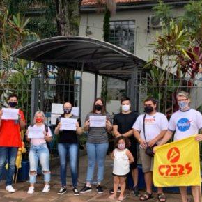 Comunidade escolar mobiliza-se contra a imposição do modelo cívico-militar na EEEM SantaCruz