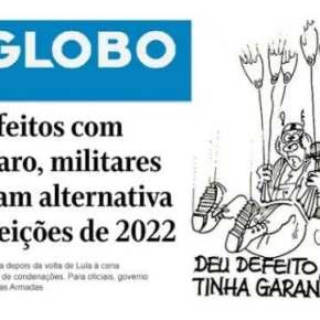 Quando general vira 'cabo eleitoral', a democracia deserta (Por FernandoBrito)