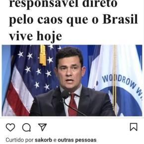 Moro corrompeu o sistema judicial e é responsável direto pelo caos que o Brasil vive: Conclusão é do New York Times, maior Jornalamericano