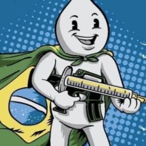 Sincretismo Macabro: Pazuello, o Zé Gotinha com fuzil, sem vacinas e sem oxigênio pros doentes porCOVID-19