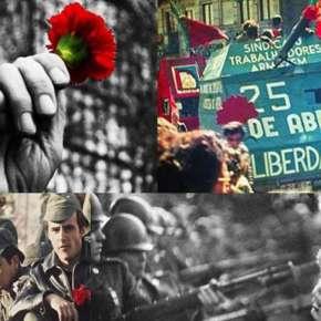 Há 47 anos, num dia 25 de abril, as Flores venciam a guerra contra tanques, fuzis e o ódio fascista com sotaqueportuguês