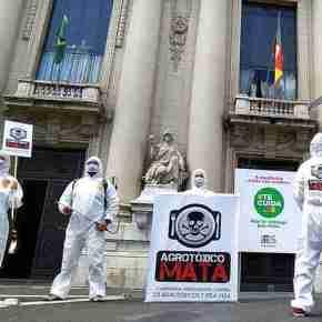 Entidades querem retirada de projeto do Executivo que libera agrotóxicos noRS