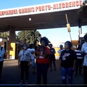 No 1º de Maio de Porto Alegre, 59 toneladas de Solidariedade contra a fome e luta contra a Privataria da CARRIS(Vídeos)