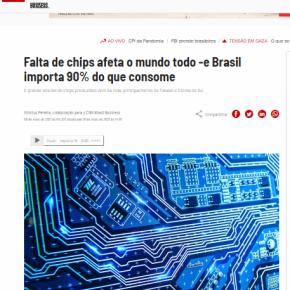 Enquanto falta de CHIPS se agrava no mundo, Bolsonaro quer fechar a CEITEC, única fábrica da AméricaLatina